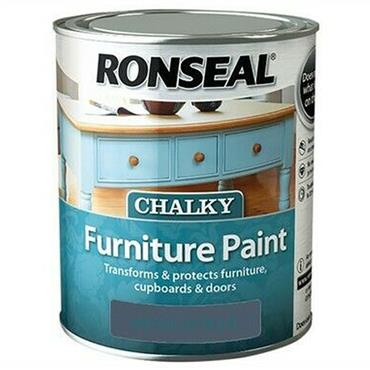 Ronseal Chalk Paint Midnight Blue 750ml
