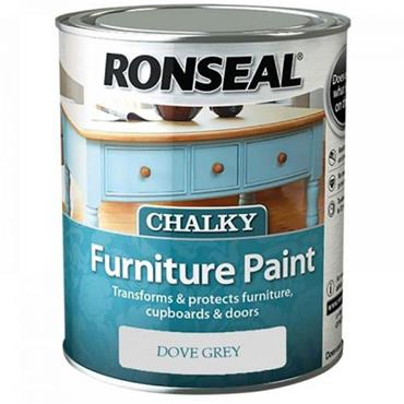 Ronseal Chalk Paint Dove Grey 750ml