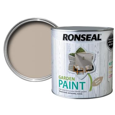 Ronseal Garden Paint Warm Stone 750ml