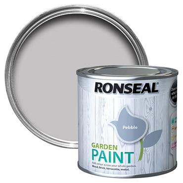 Ronseal Garden Paint Pebble 750ml