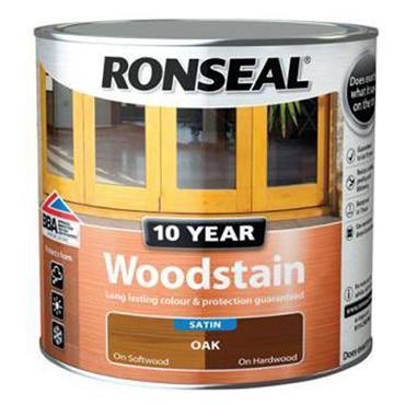 Ronseal 10 Year Woodstain Oak 750ml