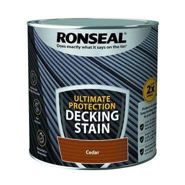 Ronseal Ultimate Protection Deck Stain Cedar 5L