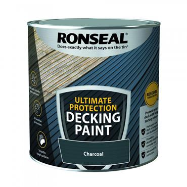 Ronseal Ultimate Decking Paint Charcoal 2.5L