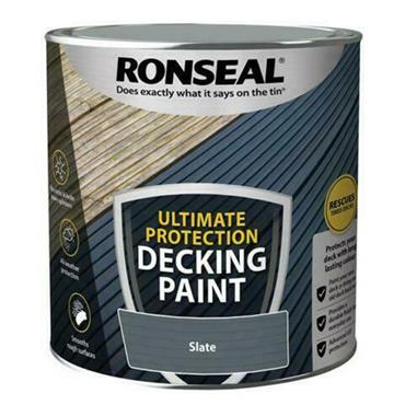 Ronseal Ultimate Decking Paint Slate 2.5L