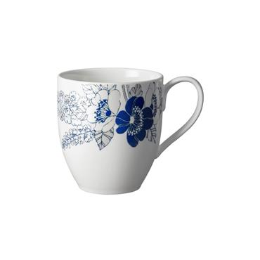 Denby Monsoon Fleur Large Mug Set 4pce