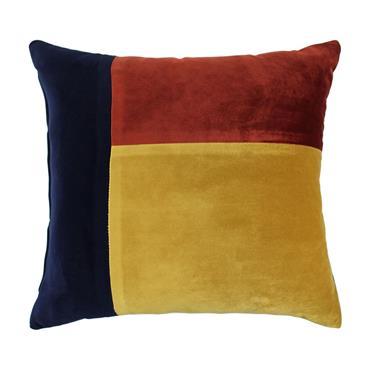 Scatter Box Turner Rust / Navy Cushion
