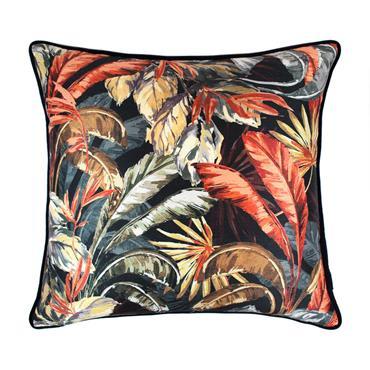 Scatter Box Paradisa Navy & Rust Cushion 58cm