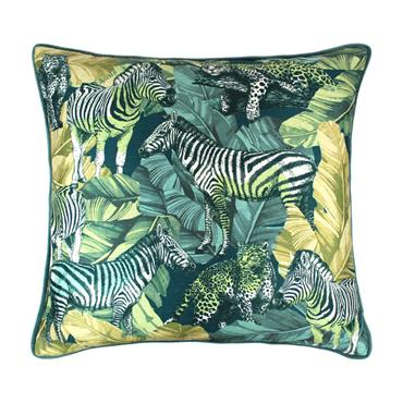 Scatter Box Madagascar Green Cushion 45cm