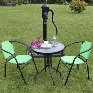 Cyprus Bistro Set Lime Green