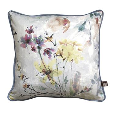 Scatter Box Eden Dove Piped Cushion 43cm