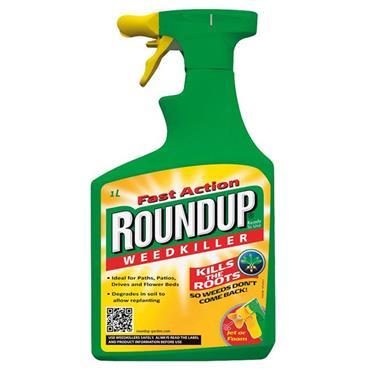 RoundUp Total Gun Weedkiller 1L + 20%