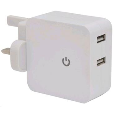 Mercury 2 Port Quick Charge Mains Charger