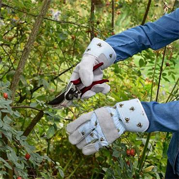 Smart Garden Bees Tuff Riggers Gloves Medium Size 8