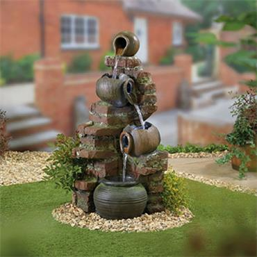 Kelkay Flowing Jugs Easy Fountain
