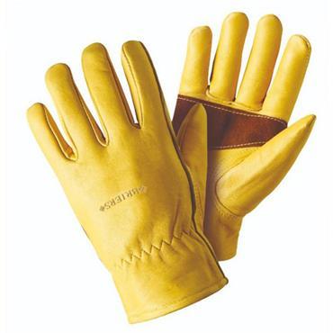 Smart Garden Ultimate Golden Leather Glove Medium Size 8