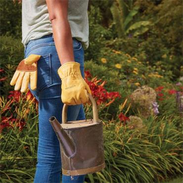 Smart Garden Ultimate Golden Leather Glove Large Size 9