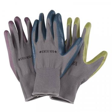 Smart Garden Seed & Weed Gloves Green Medium Size 8