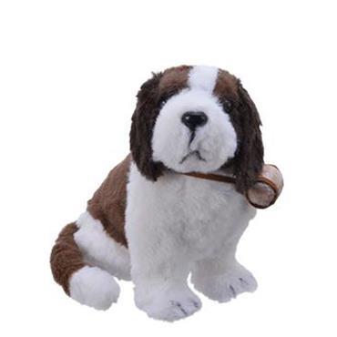 22cm Foam Dog With Fur