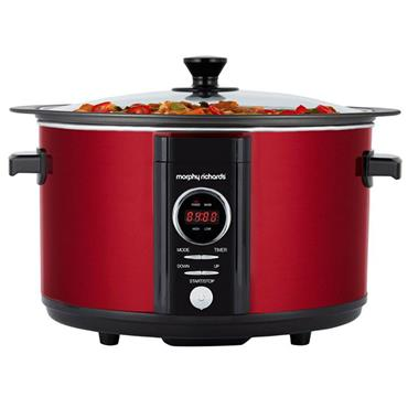 Morphy Richards Slow Cooker Red