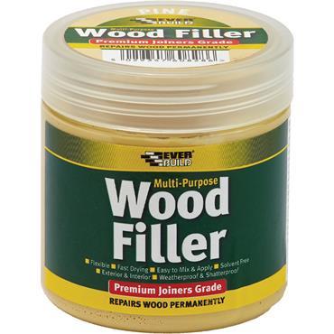 Everbuild Multi Purpose Premium Joiners Grade Wood Filler Mahogany 250ml