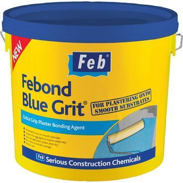 Everbuild Febond Blue Grit Bonding Agent 5L