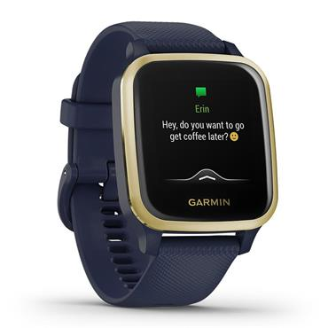 Garmin Venu Sq Music Edition Navy Light Gold