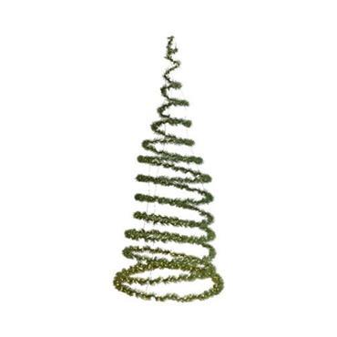 LED Green Spiral Christmas Tree