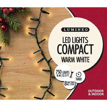 Kaemingk 750 Warm White LED Compact Outdoor Lights