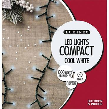 White 1000 Led Compact Lights