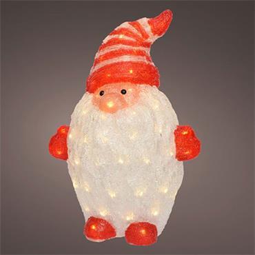 Kaemingk 65cm LED Acrylic Outdoor Gnome