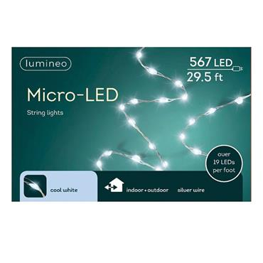 Cool White 567 Micro LED Lights