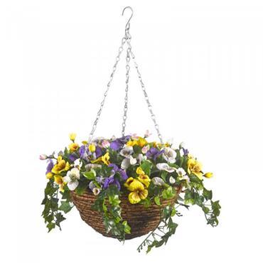 Smart Garden Easy Basket Pansy 30cm