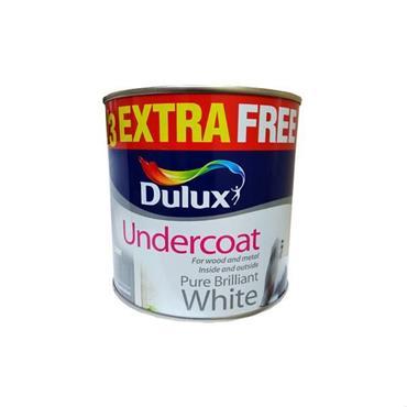 Dulux Undercoat Brilliant White 750ml