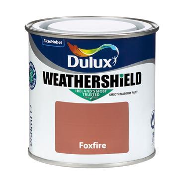 Dulux Weathershield Foxfire 250ml