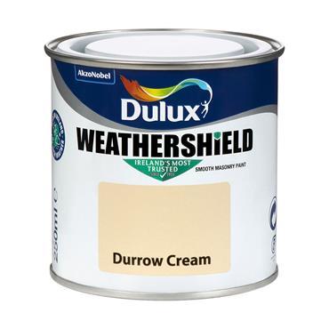 Dulux Weathershield Durrow Cream 250ml