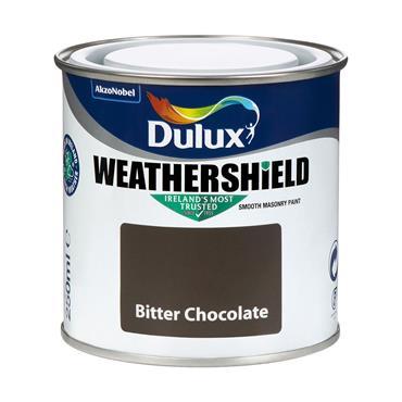 Dulux Weathershield Bitter Chocolate 250ml