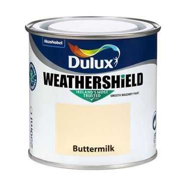 Dulux Weathershield Buttermilk 250ml