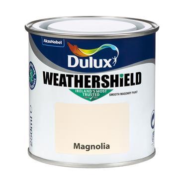 Dulux Weathershield Magnolia 250ml