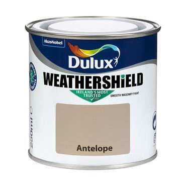 Dulux Weathershield Antelope 250ml