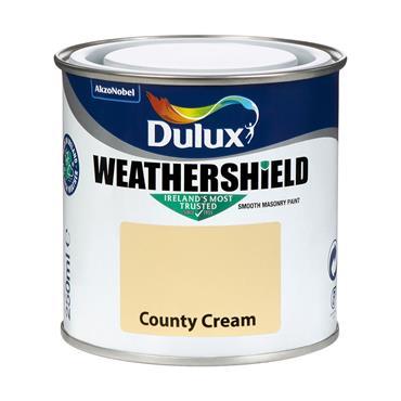 Dulux Weathershield County Cream 250ml