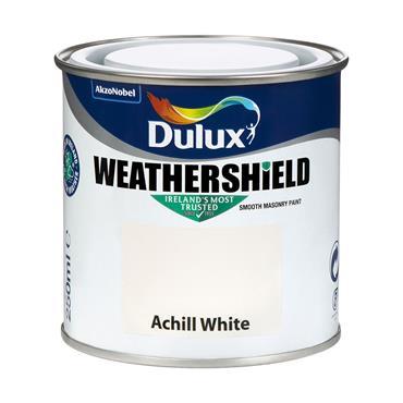 Dulux Weathershield Achill White 250ml