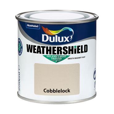 Dulux Weathershield Cobblelock 250ml