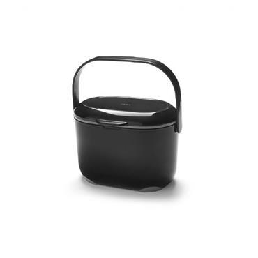 Addis 2.5Ltr  Compost Caddy Black / Grey