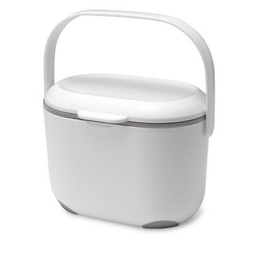 Addis Kitchen Compost Caddy White / Grey