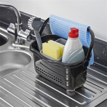 Addis Sink Caddy Black / Grey