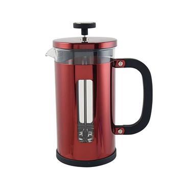 La Caferiere Pisa 8 Cup Cafetiere Red