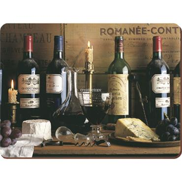 Creative Tops Vintage Wine Pk Of 6 Premium Placemats