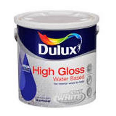 Dulux Water Based High Gloss Pure Brilliant White 5L