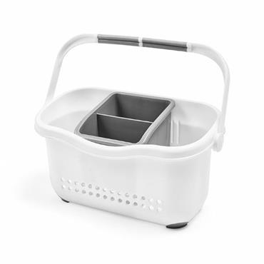 Addis Sink Caddy White / Grey