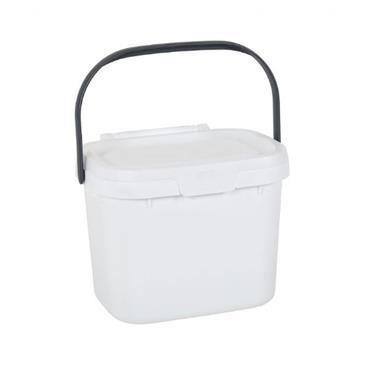 Addis Compost Caddy White / Grey
